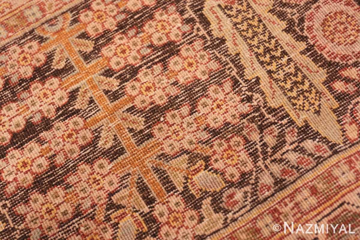 Weave detail Antique Persian Tabriz rug 41744 by Nazmiyal
