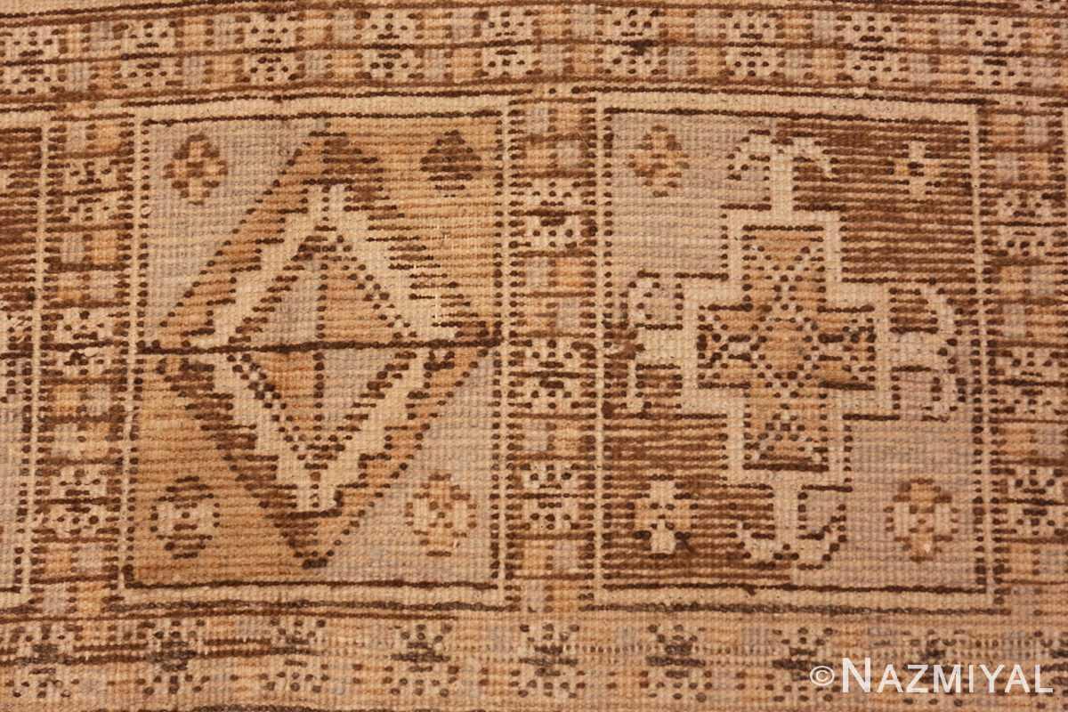 Weave detail Large gallery size Antique Khotan rug 41699 by Nazmiyal