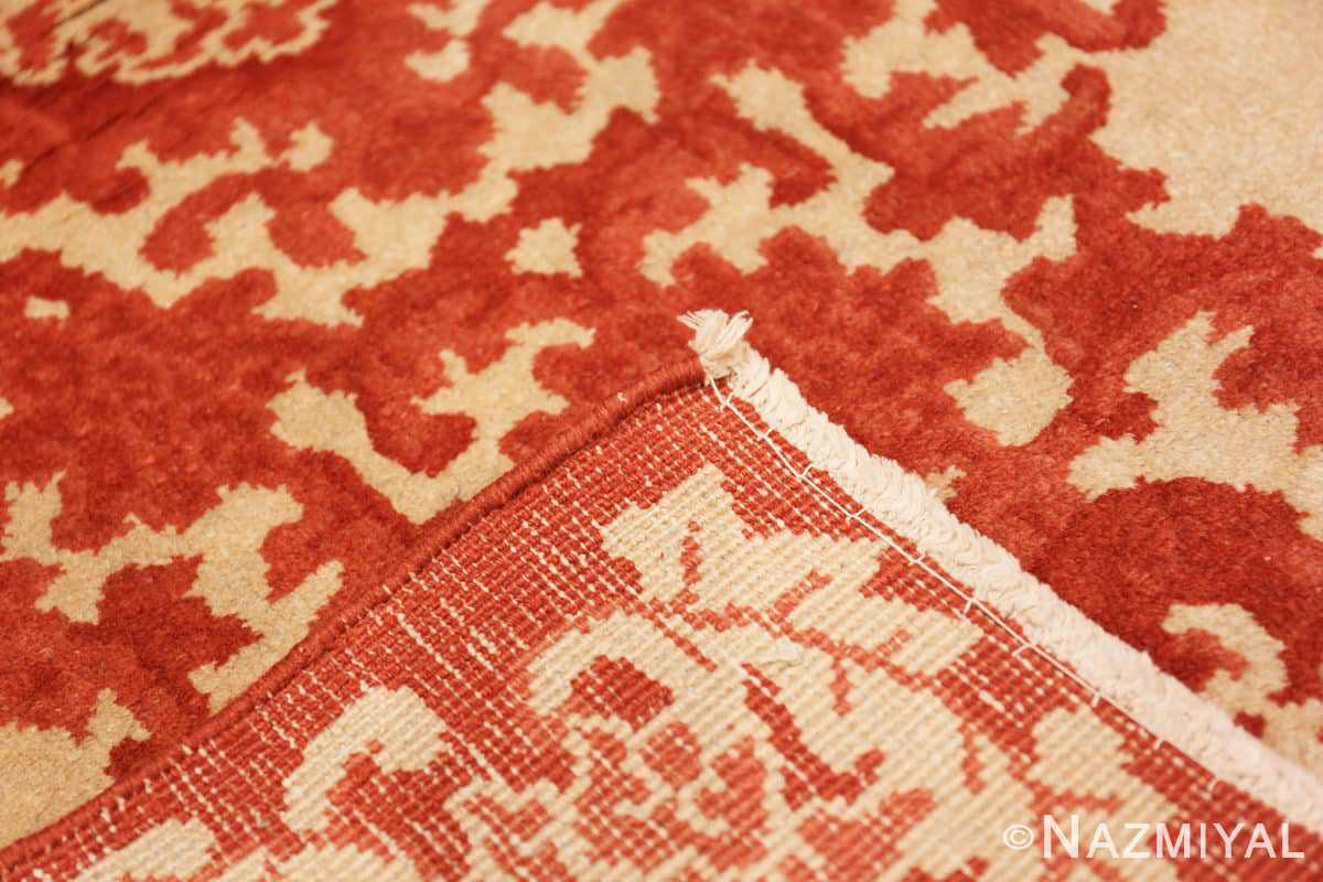 Weave small scatter size Antique Oriental Chinese carpet 2608 by Nazmiyal