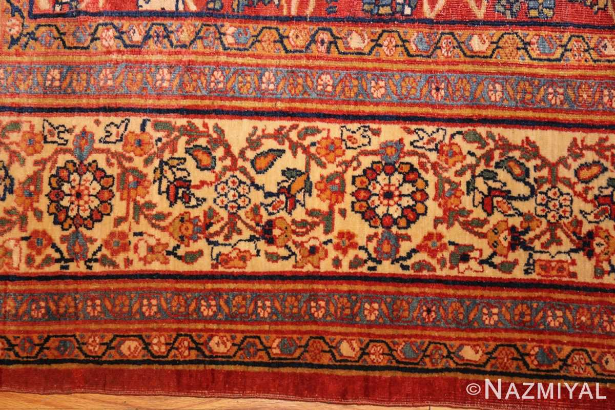 fine antique persian sarouk farahan rug 43447 border Nazmiyal