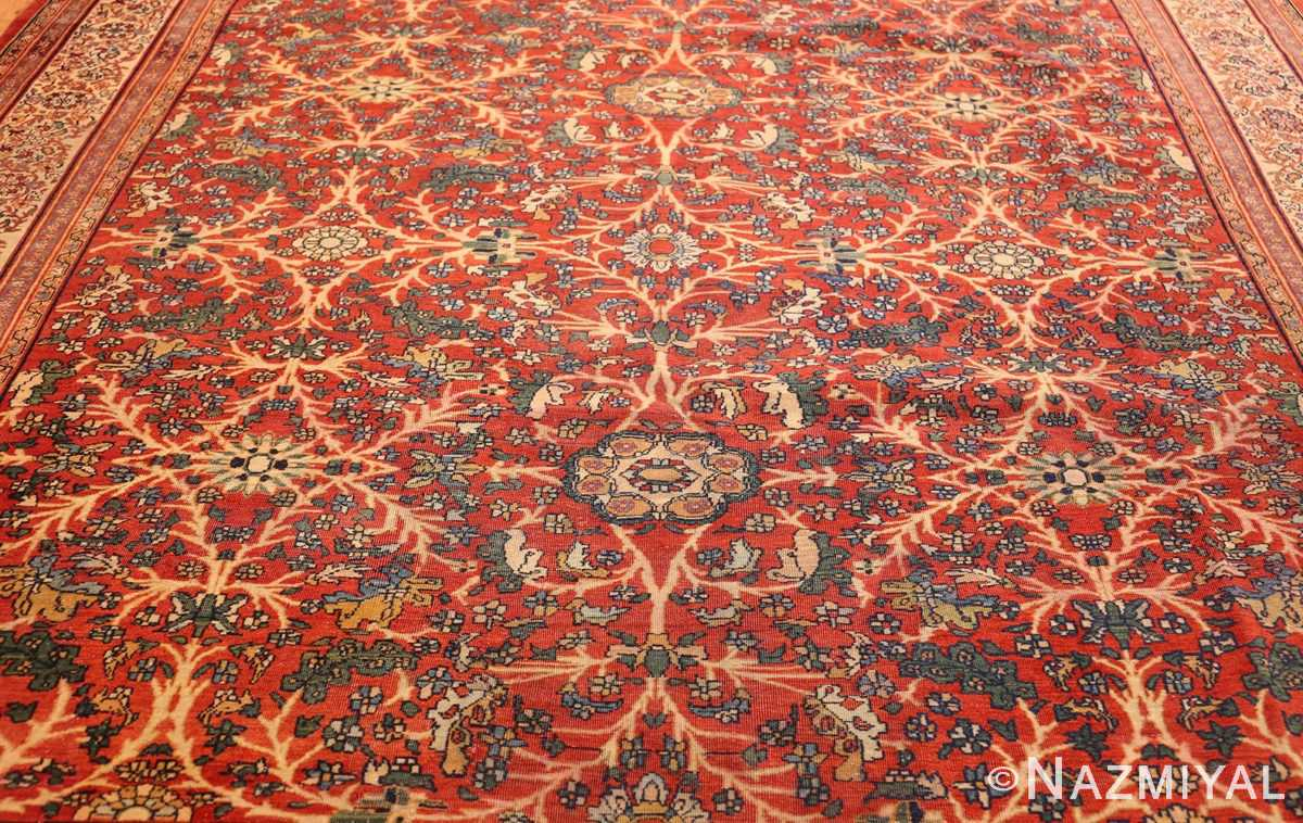 fine antique persian sarouk farahan rug 43447 field Nazmiyal