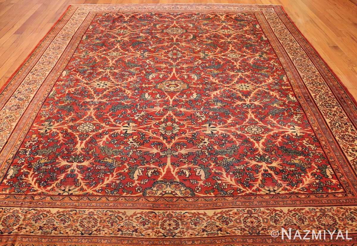 fine antique persian sarouk farahan rug 43447 full Nazmiyal