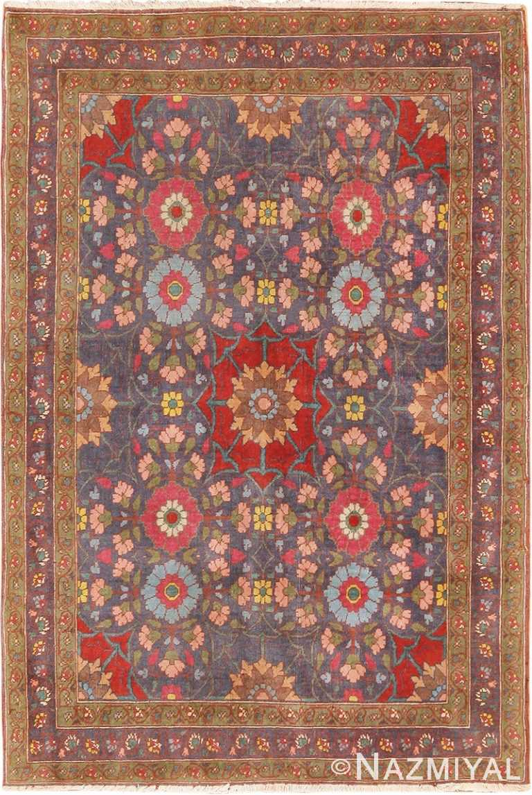 fine antique persian tabriz rug 42386 Nazmiyal