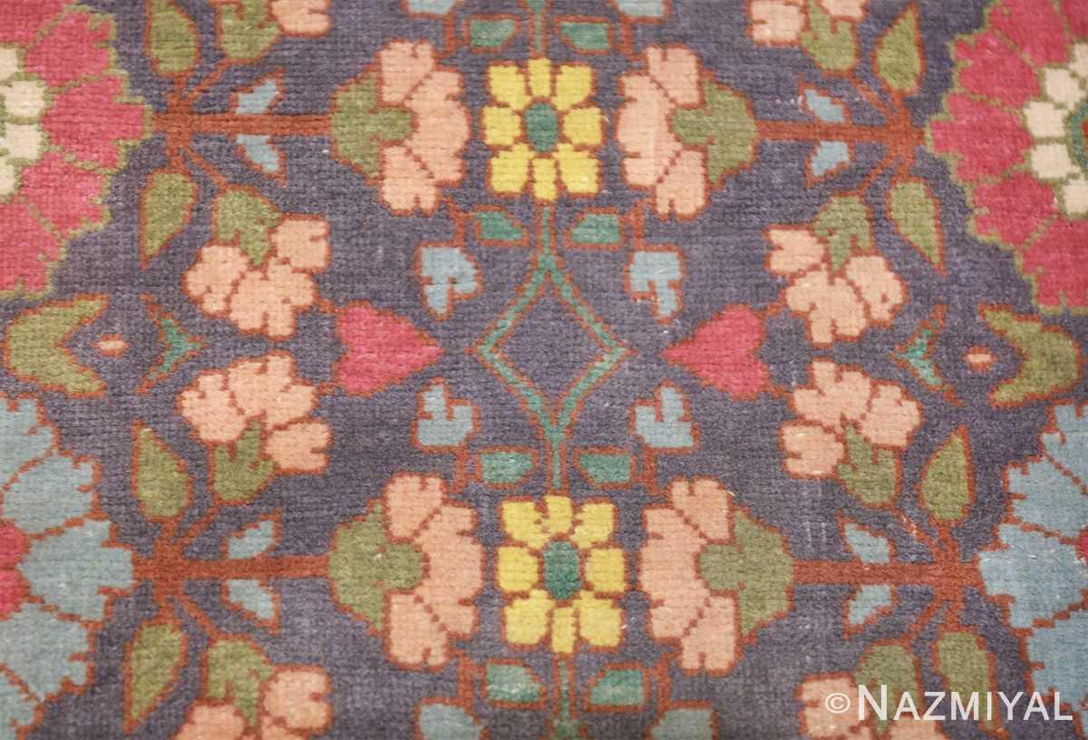 fine antique persian tabriz rug 42386 round Nazmiyal