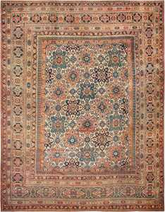 Large Oversized Antique Khorassan Persian Rug 44046 Nazmiyal