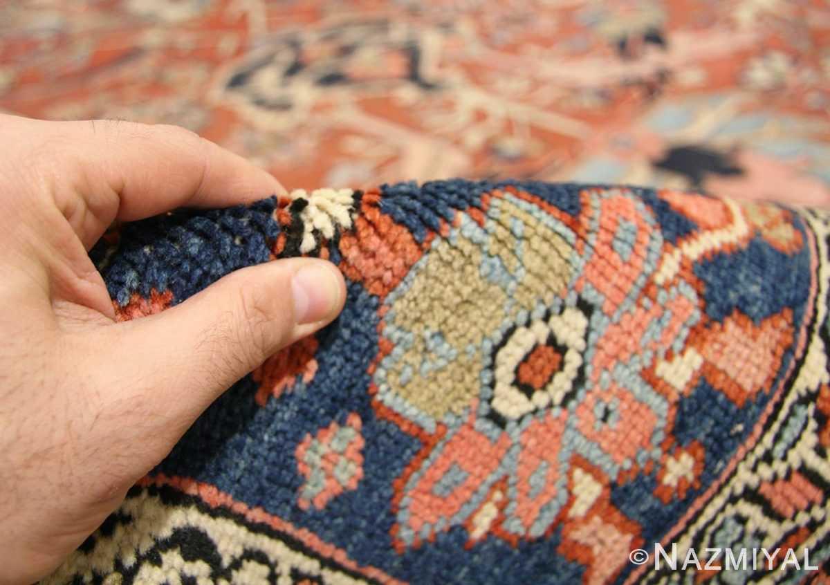 antique persian serapi rug 43696 pile Nazmiyal