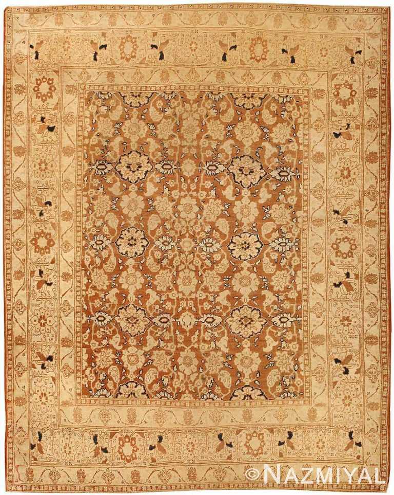 antique persian tabriz rug by haji jalili 43503 Nazmiyal