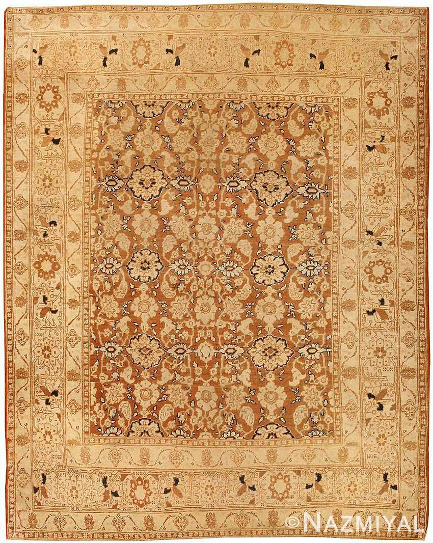 antique persian tabriz rug by haji jalili 43503 Nazmiyal