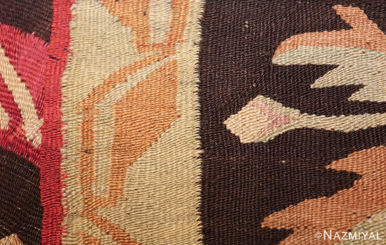 antique romanian bessarabian rug 40847 weave Nazmiyal