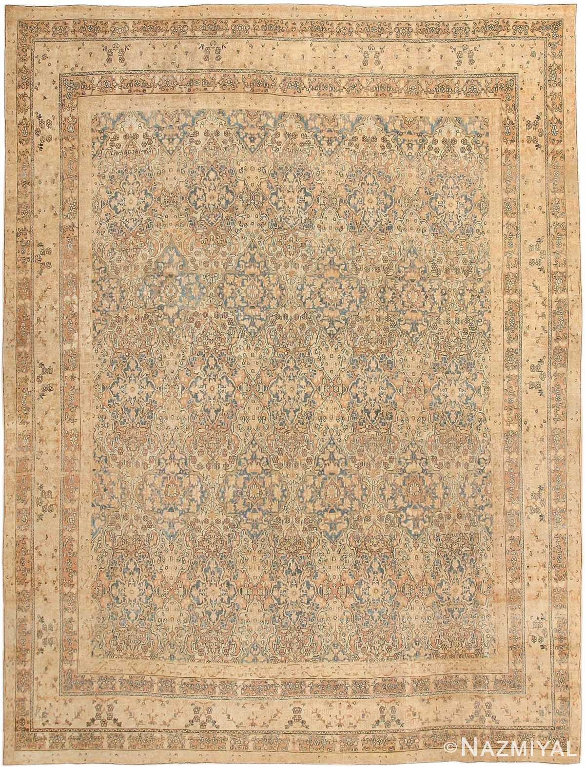 Decorative Fine Antique Room Size Persian Kerman Rug 42486 Nazmiyal