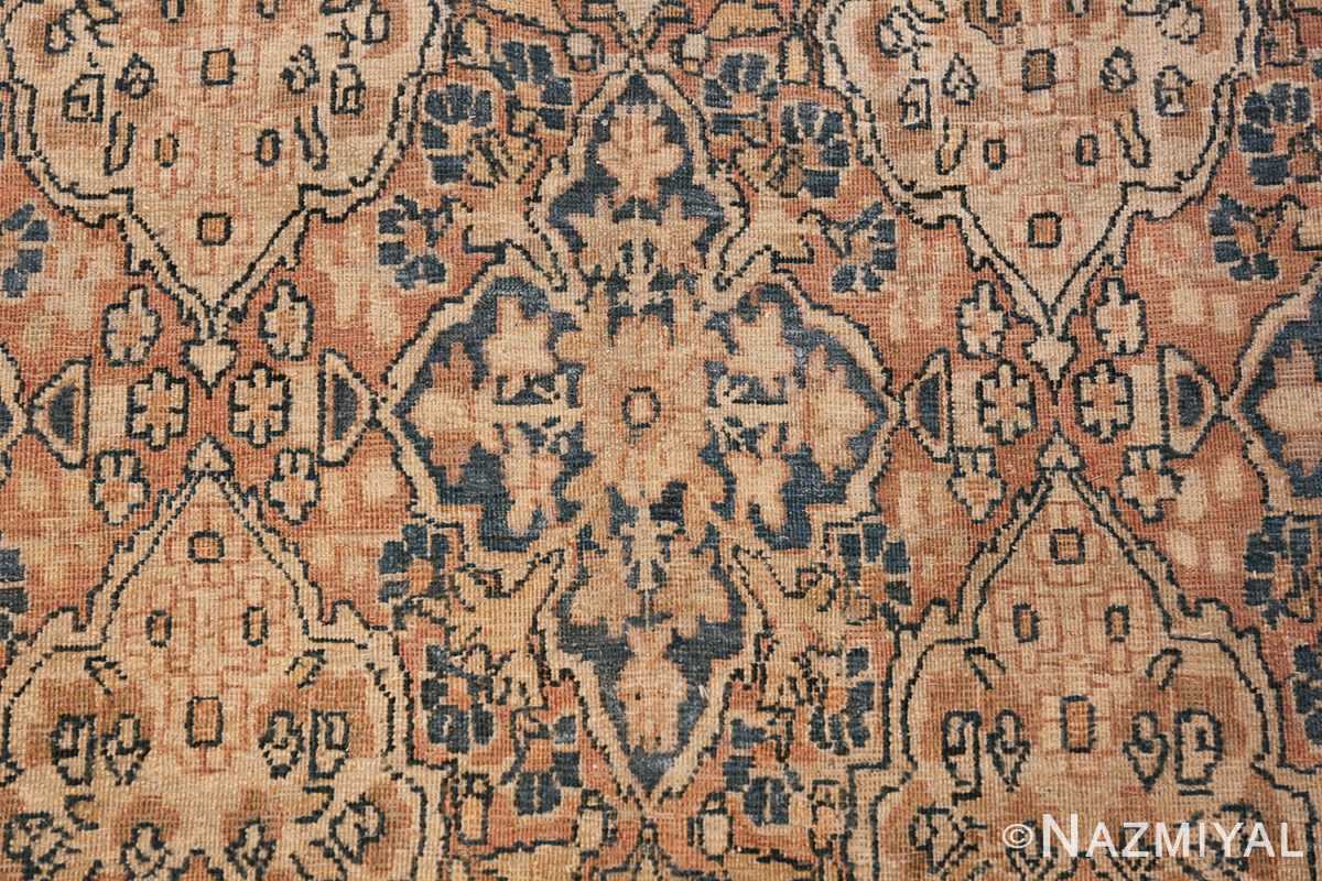 Decorative Fine Antique Room Size Persian Kerman Rug 42486 Bird Eye View Nazmiyal