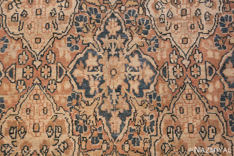 Decorative Fine Antique Room Size Persian Kerman Rug 42486 Bird Eye View Nazmiyal