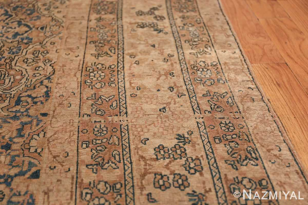 Decorative Fine Antique Room Size Persian Kerman Rug 42486 Border Design Nazmiyal