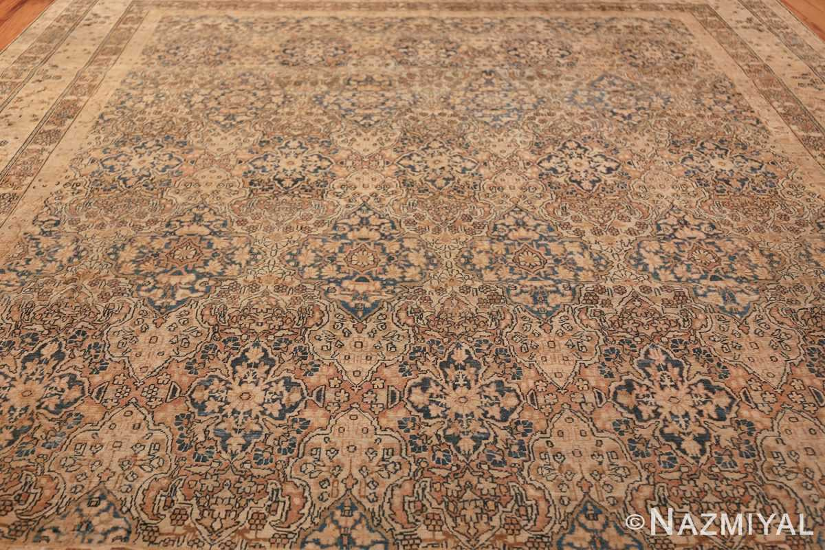 Decorative Fine Antique Room Size Persian Kerman Rug 42486 Field Design Nazmiyal