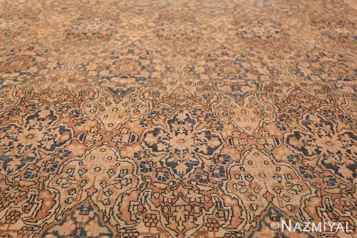 Decorative Fine Antique Room Size Persian Kerman Rug 42486 Geometric Design Nazmiyal