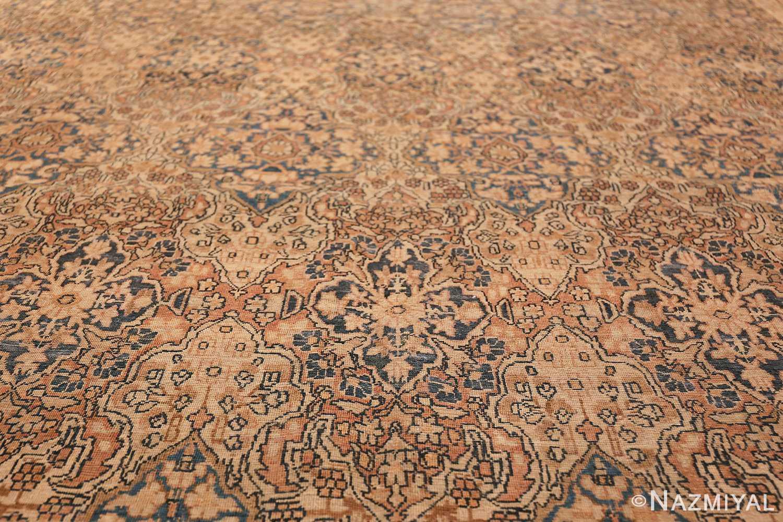 Decorative Fine Antique Room Size Persian Kerman Rug 42486 Geometric Design Nazmiyal