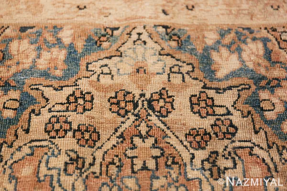 Decorative Fine Antique Room Size Persian Kerman Rug 42486 Texture Closeup Nazmiyal