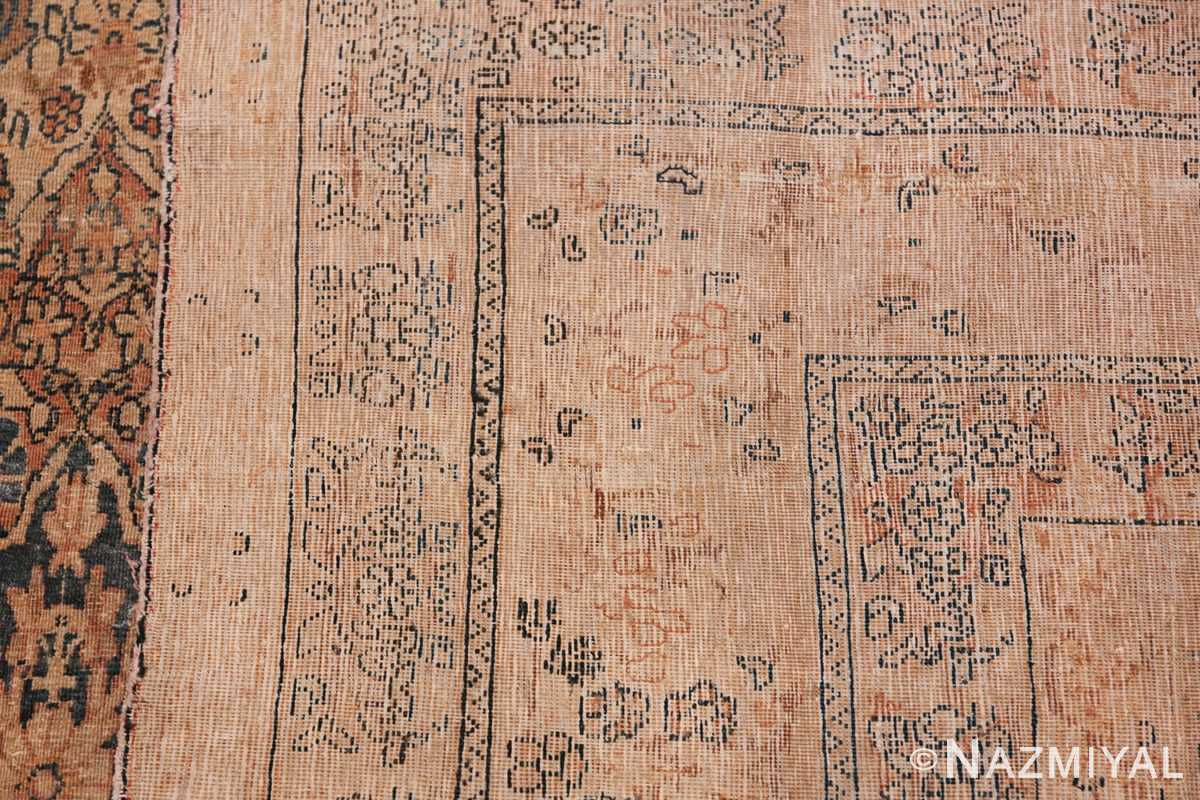 Decorative Fine Antique Room Size Persian Kerman Rug 42486 Woven Knots Nazmiyal
