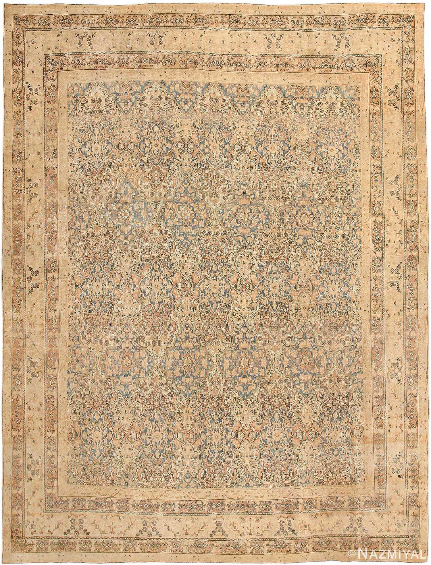 Decorative Fine Antique Room Size Persian Kerman Rug 42486 Nazmiyal