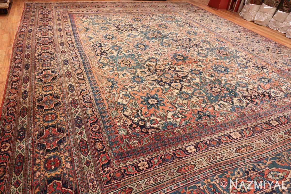 Full large oversized Antique Khorassan Persian rug 44046 by Nazmiyal