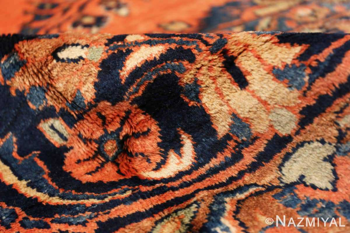 Pile Antique Persian rust colored Sultanabad rug 40470 by Nazmiyal