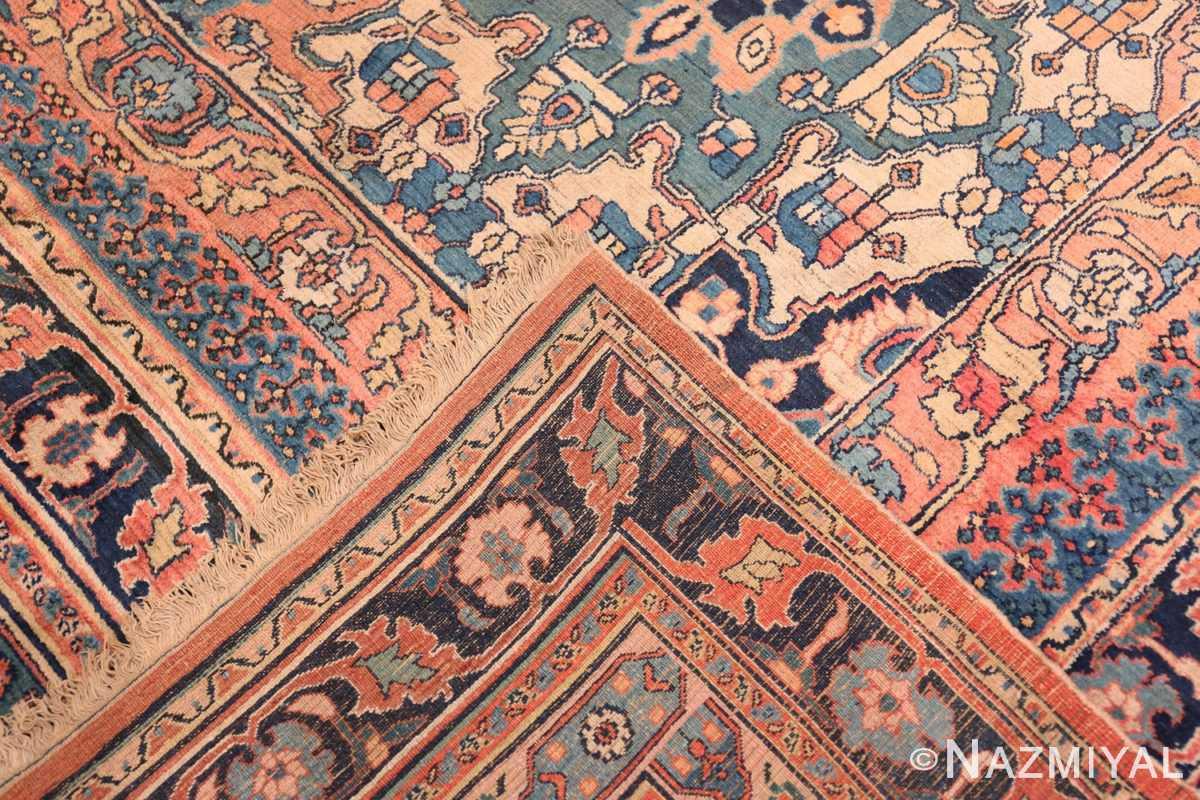 Weave large oversized Antique Khorassan Persian rug 44046 by Nazmiyal