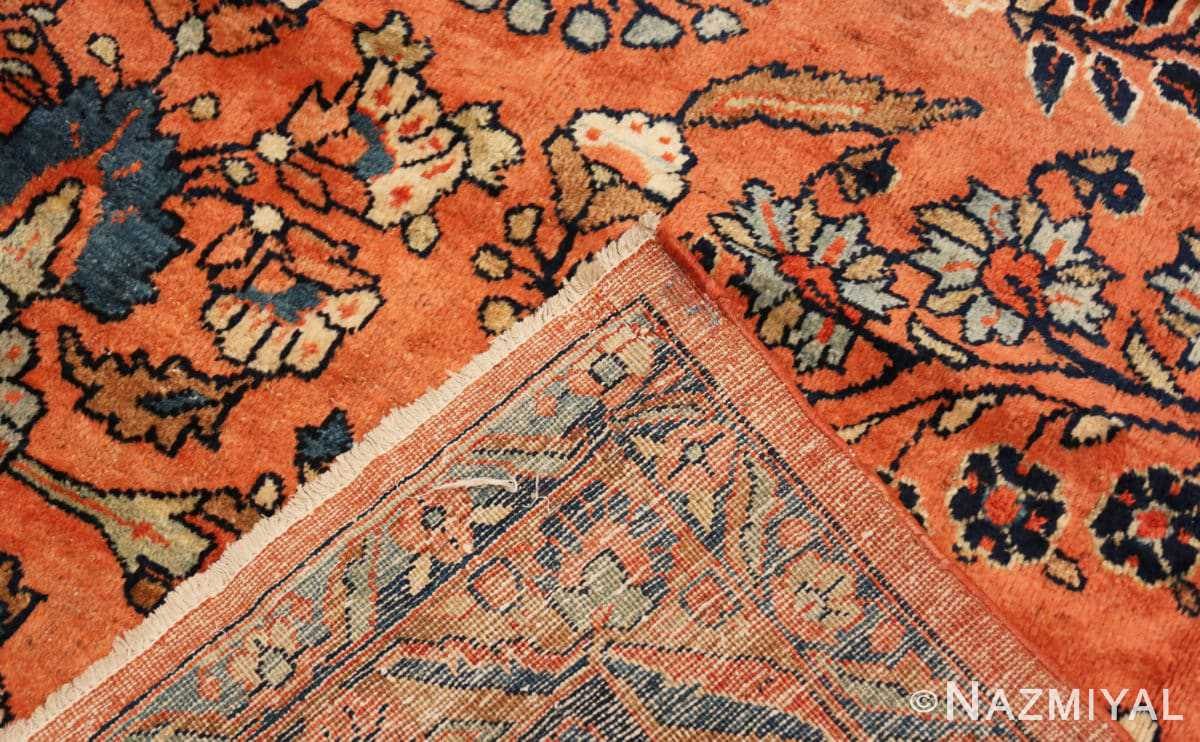 Weave Antique Persian rust colored Sultanabad rug 40470 by Nazmiyal