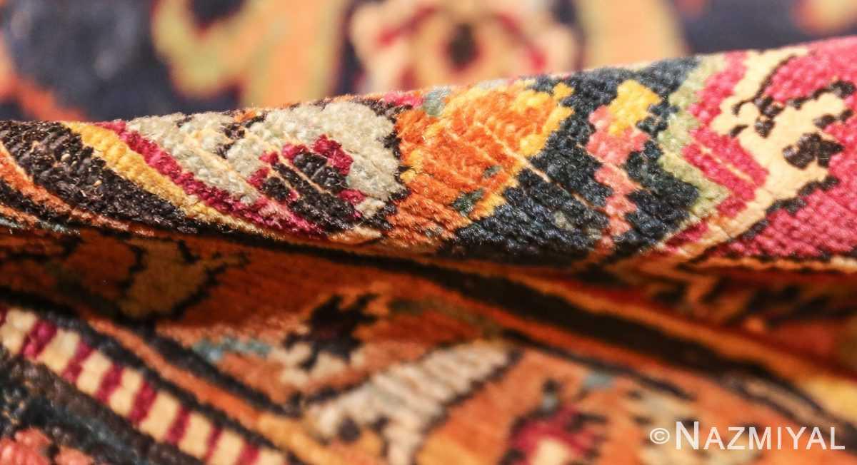 antique 17th century persian esfahan rug 8034 pile Nazmiyal
