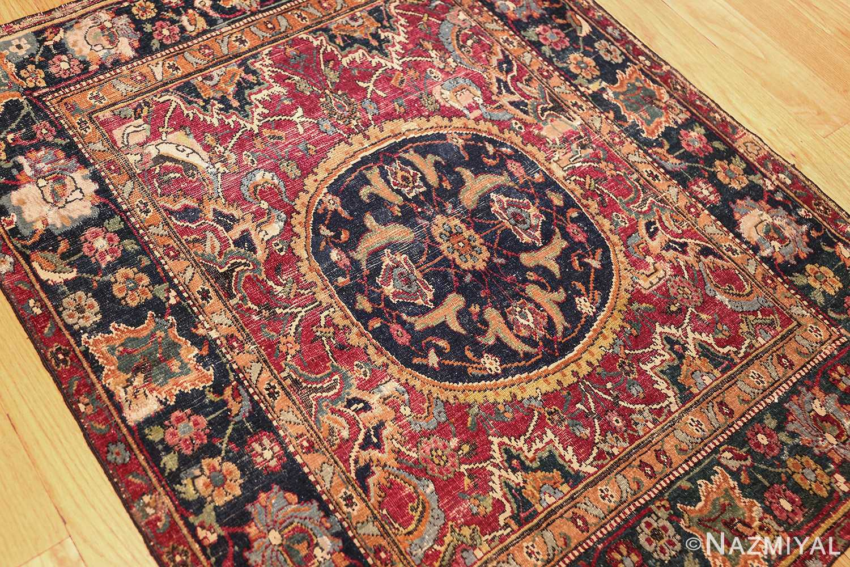 antique 17th century persian esfahan rug 8034 whole Nazmiyal