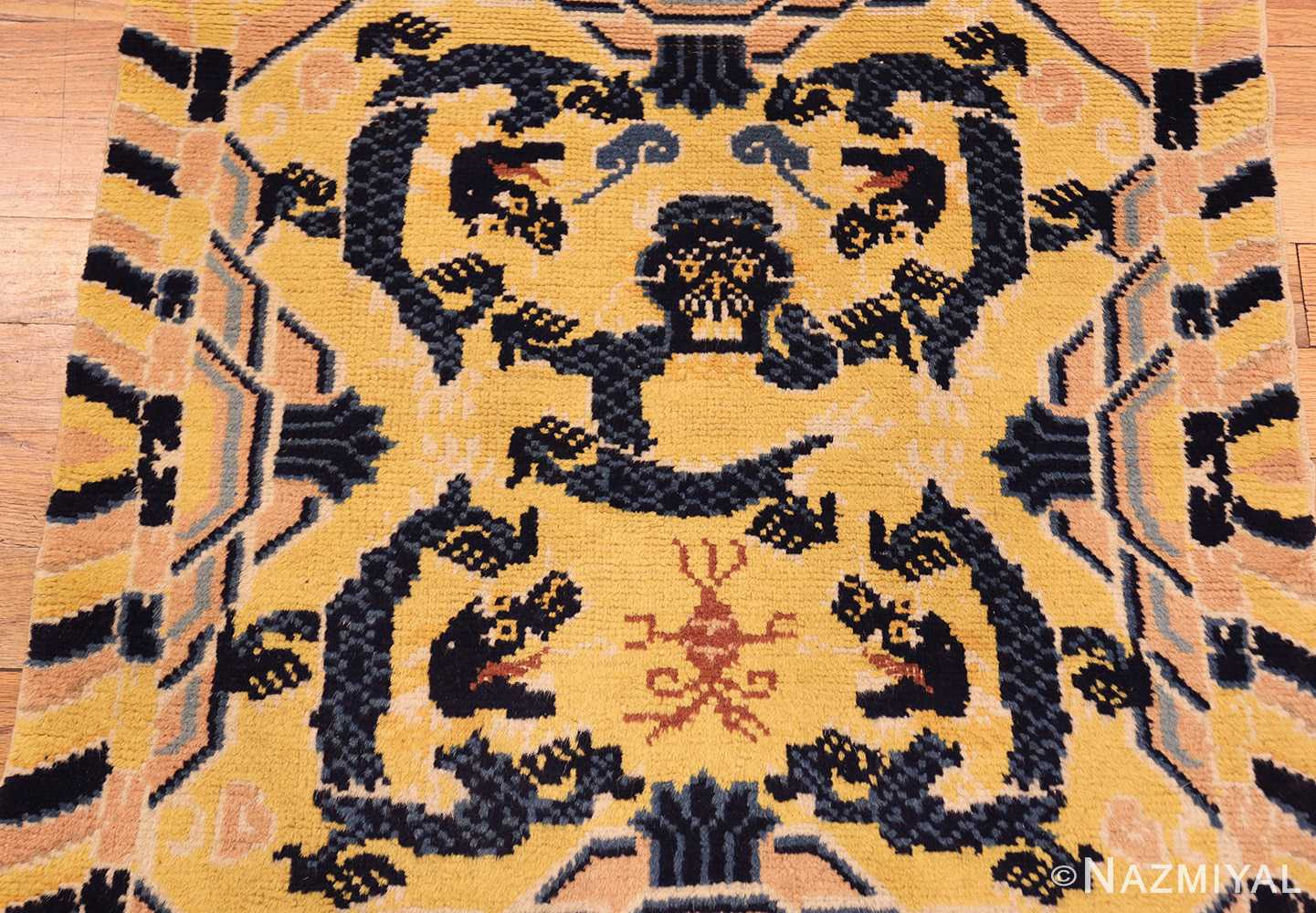 antique chinese seat cover 3219 down Nazmiyal