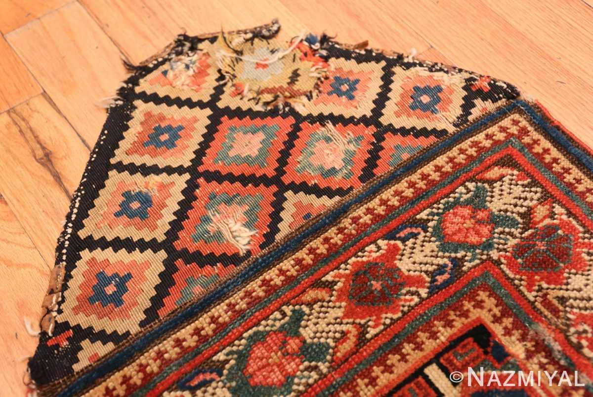 Border Antique Kurdish Persian rug 2203 by Nazmiyal