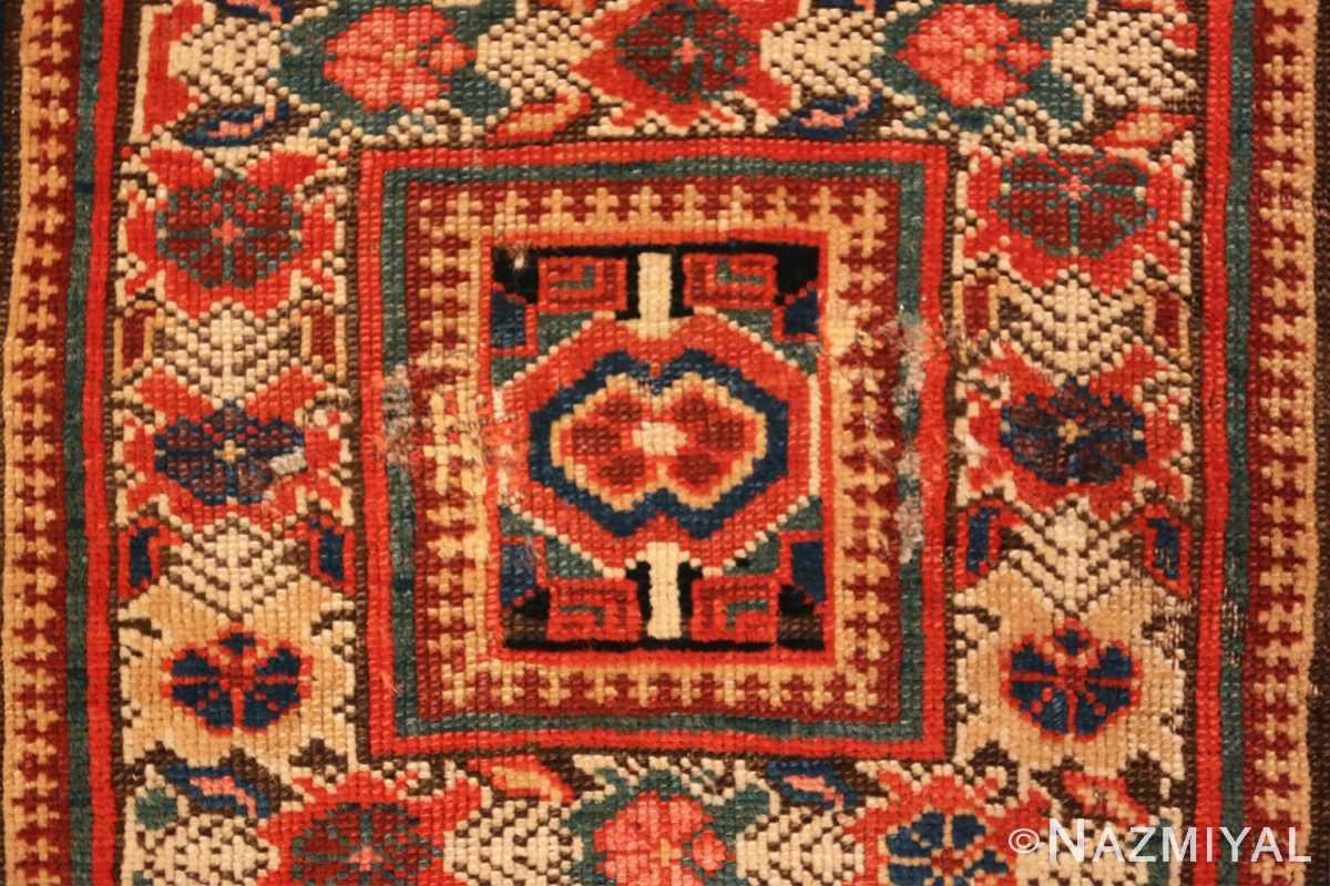 Close-up Antique Kurdish Persian rug 2203 by Nazmiyal