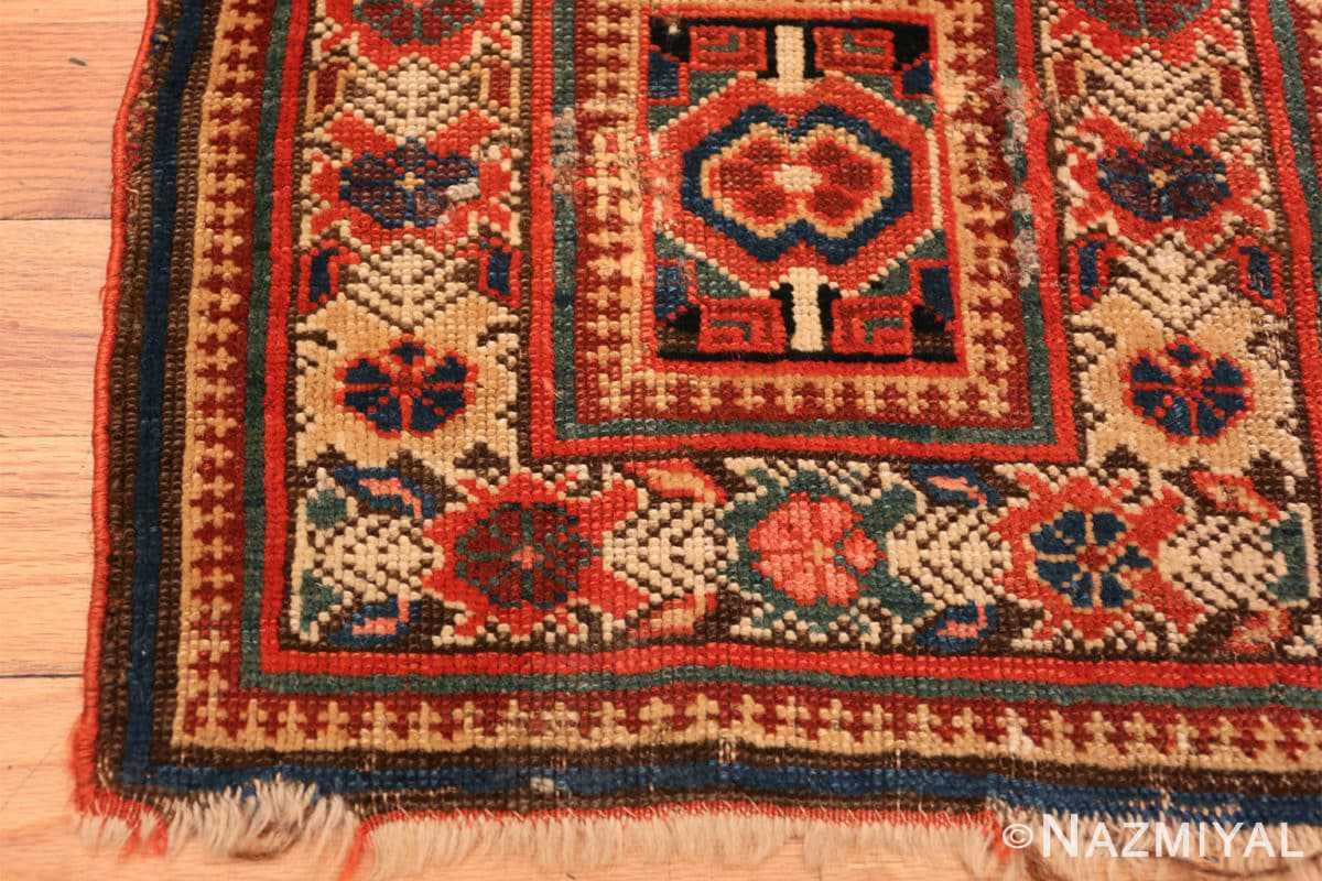 Corner Antique Kurdish Persian rug 2203 by Nazmiyal
