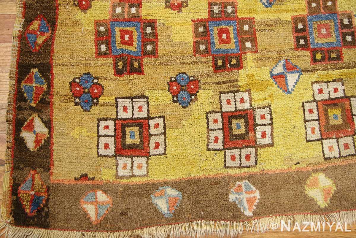 antique konya turkish rug 3093 border Nazmiyal