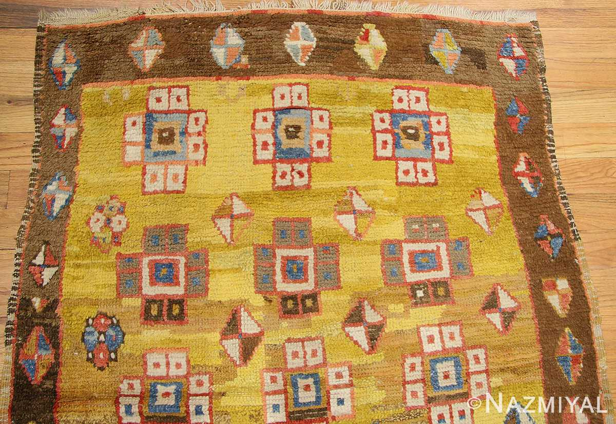 antique konya turkish rug 3093 field Nazmiyal
