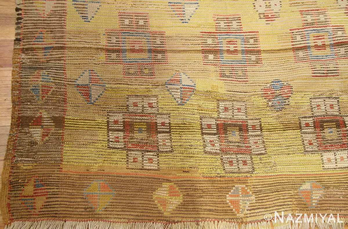 antique konya turkish rug 3093 weave Nazmiyal