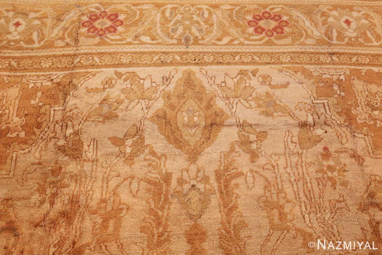 large decorative antique turkish oushak rug 1500 top Nazmiyal