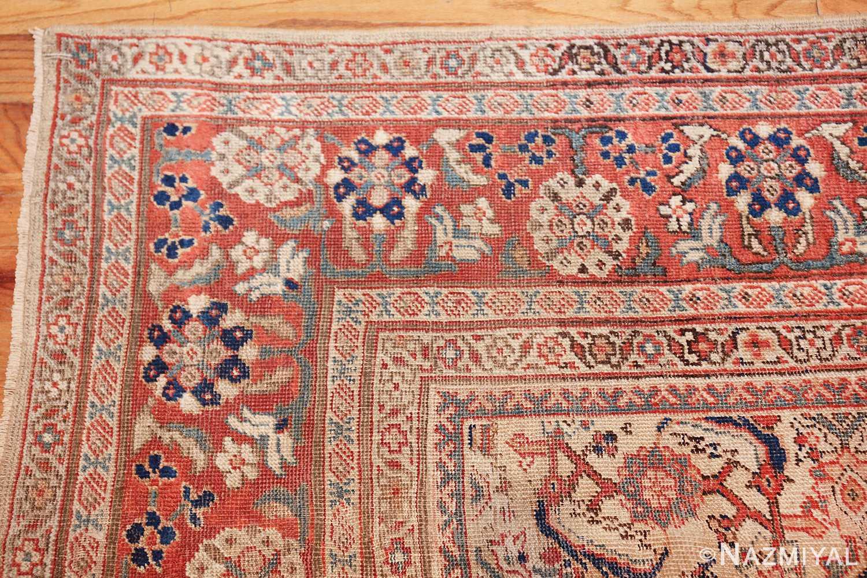 antique persian sultanabad rug 42301 closeup Nazmiyal