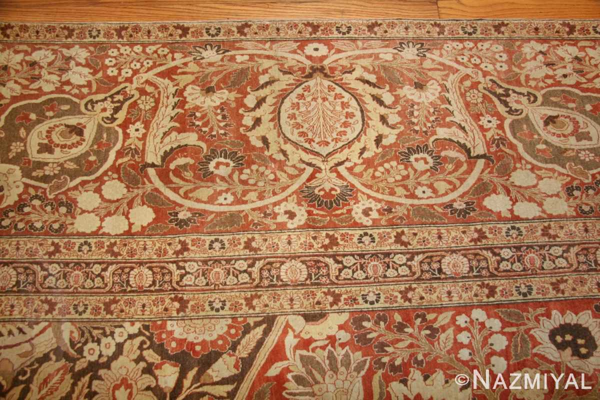 oriental oversized antique persian tabriz haji jalili carpet 41353 border Nazmiyal
