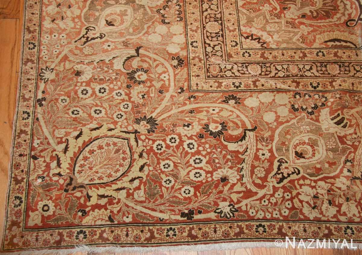 oriental oversized antique persian tabriz haji jalili carpet 41353 corner Nazmiyal
