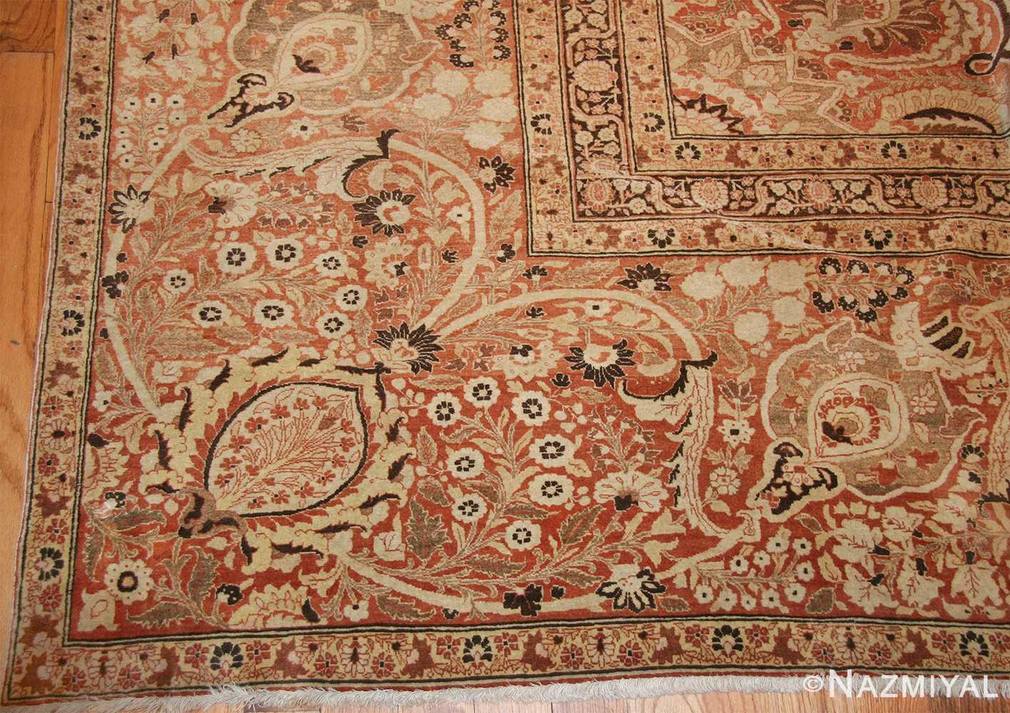 oriental oversized antique persian tabriz haji jalili carpet 41353 corner Nazmiyal