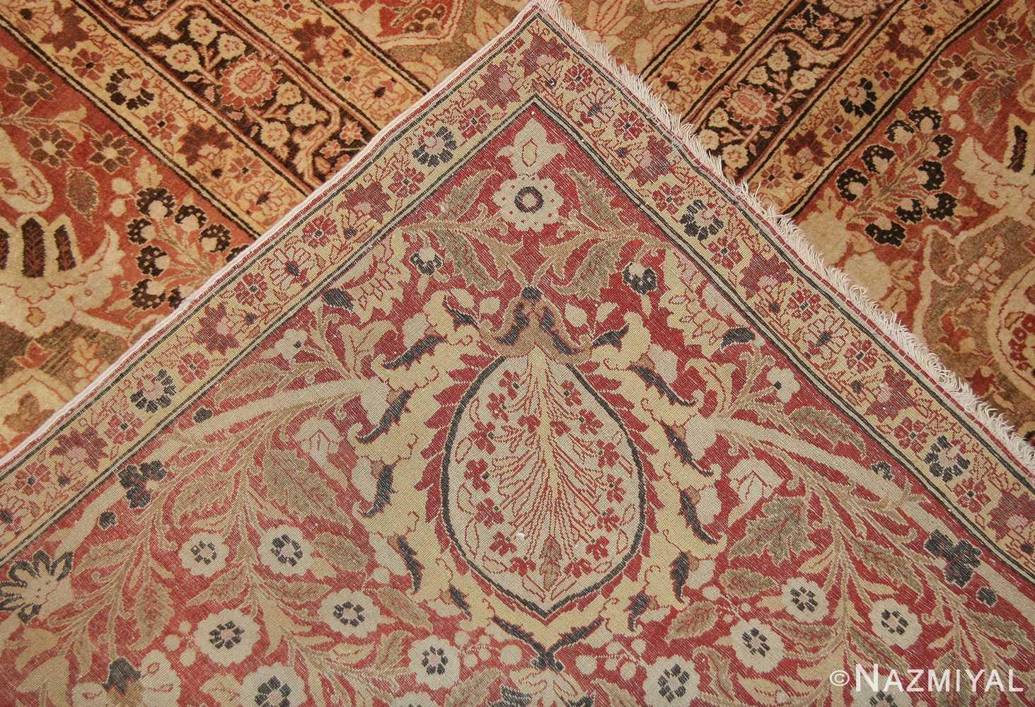 oriental oversized antique persian tabriz haji jalili carpet 41353 knots Nazmiyal