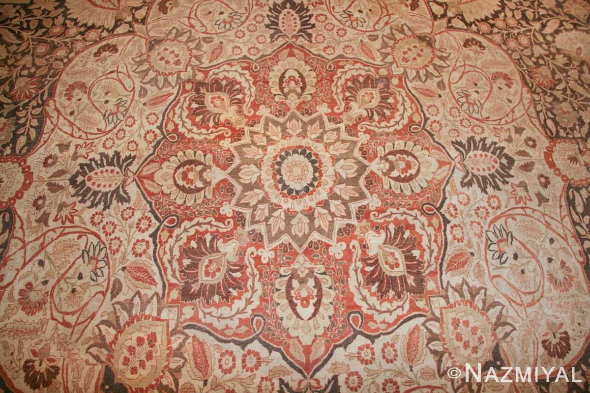 oriental oversized antique persian tabriz haji jalili carpet 41353 medallion Nazmiyal