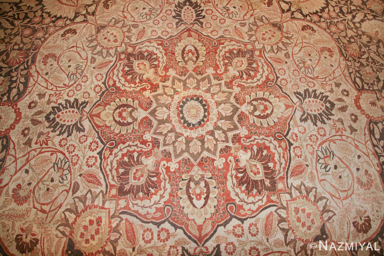 oriental oversized antique persian tabriz haji jalili carpet 41353 medallion Nazmiyal