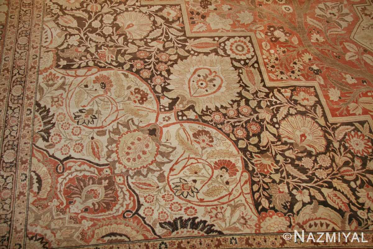 oriental oversized antique persian tabriz haji jalili carpet 41353 part Nazmiyal