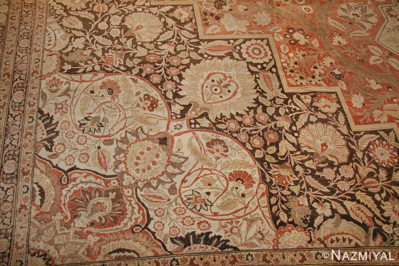 oriental oversized antique persian tabriz haji jalili carpet 41353 part Nazmiyal