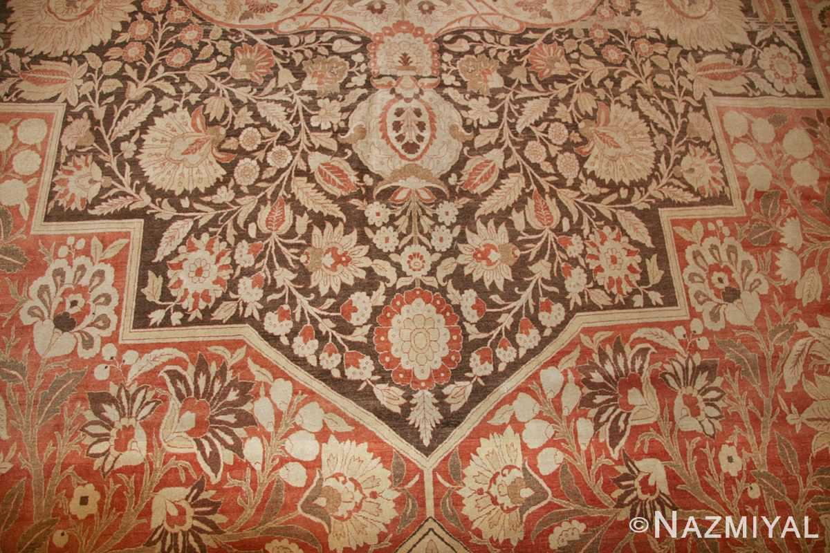 oriental oversized antique persian tabriz haji jalili carpet 41353 scrolls Nazmiyal