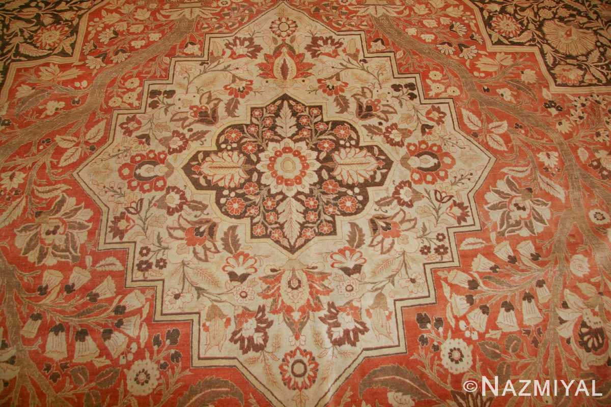 oriental oversized antique persian tabriz haji jalili carpet 41353 tiara Nazmiyal