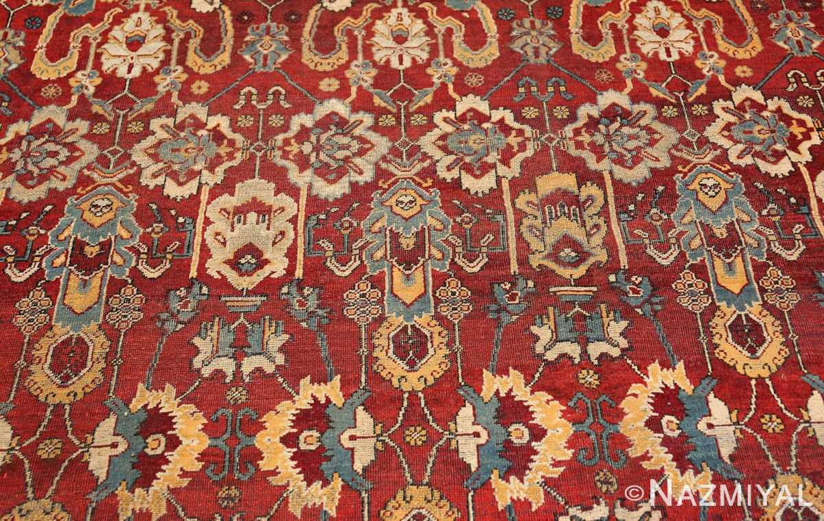 antique indian amritsar rug 2670 blue Nazmiyal