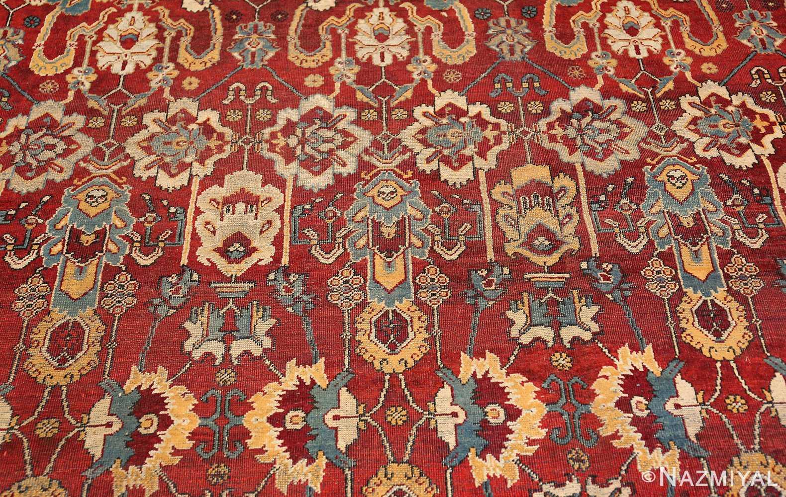 antique indian amritsar rug 2670 blue Nazmiyal